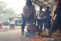 Pemusnahan barang bukti dari tindak pidana narkotika di Bartim