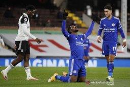 Liga Inggris: Leicester bekuk Fulham 2-0
