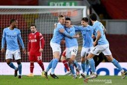 City patahkan kutukan di Anfield usai pecundangi Liverpool