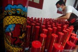 Kelenteng Gondomanan Yogyakarta menerapkan pembatasan perayaan Imlek