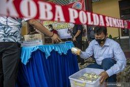 Polda Sumsel Gagalkan Penyelundupan 25 Kilogram Sabu