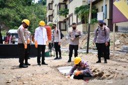 Pemprov Sulsel bangun 50 huntap untuk keluarga Polda Sulbar korban gempa
