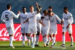 Real Madrid kembali ke posisi kedua klasemen