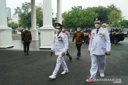 Presiden Joko Widodo lantik Gubernur-Wagub Kalimantan Utara 2021-2024