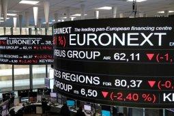 Saham Prancis, indeks CAC 40 jatuh 0,82 persen
