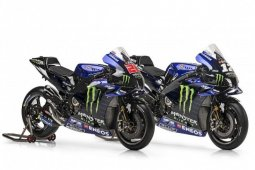 Ini motor baru Monster Energy Yamaha