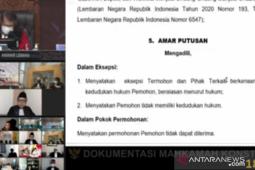 MK tak lanjutkan sidang PHP Kabupaten Muna