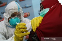 Sebanyak 12.164 nakes di Sultra sudah disuntik vaksin COVID-19