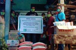 Insight Investments bantu korban  erupsi  Lewotolok