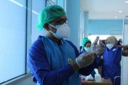 Nakes di pulau terluar Lampung telah jalani vaksinasi COVID-19