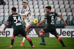 Dua gol Cristiano Ronaldo bantu Juventus kalahkan Crotone