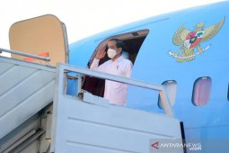 Presiden Jokowi tinjau lumbung pangan dan Bendungan Napun Gete di NTT