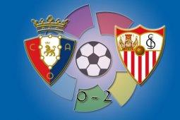 Sevilla menyalib Barcelona setelah kalahkan Osasuna