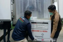 182.700 dosis vaksin COVID-19 tiba  di Palembang