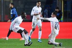 Liga Champions - Gol tunggal Mendy amankan kemenangan Real Madrid di markas Atalanta