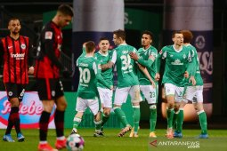 Catatan kemenangan beruntun Frankfurt berakhir di kandang  Werder Bremen
