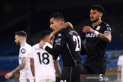 Aston Villa boyong tiga poin penuh dari markas Leeds