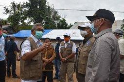 Pemprov Sulbar salurkan bantuan ke sejumlah titik terdampak gempa bumi