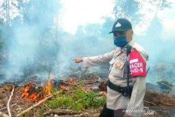 Polisi selidiki kebakaran lahan di Palangka Raya