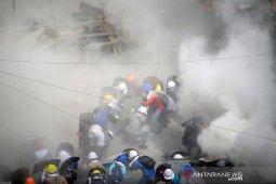 Warga selamatkan diri dari zona industri Myanmar