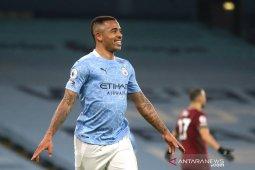 Gabriel Jesus cetak dua gol kala City hantam Wolverhampton 4-1