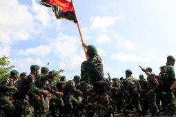 Ratusan perajurit TNI diberangkatkan ke perbatasan RI-RDTL