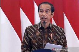 Jangan sampai lokasi strategis diisi merek luar negeri, kata Jokowi