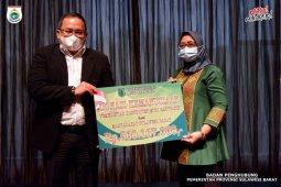 Pemprov Sulbar dapat bantuan dari Bupati Banyuasin Rp500 juta
