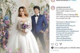 Jokowi dan Prabowo jadi saksi pernikahan Atta-Aurel