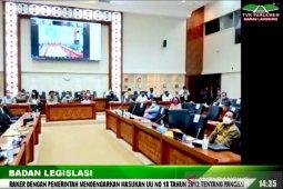 DPR dan pemerintah sepakat bentuk lembaga pangan nasional