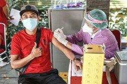 Persiapan ke Sleman, skuad Bali United menjalani vaksin