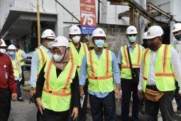 Bupati Sleman meninjau proyek pelebaran Jalan Gito Gati