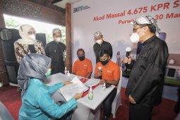 BNI menggelar akad kredit massal bagi 4.675 debitur KPR Sejahtera FLPP