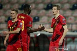 Belgia babat habis Belarusia, Wales memetik kemenangan perdana