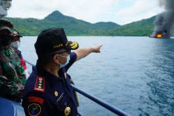10 kapal pencuri ikan di Laut Natuna Utara ditenggelamkan