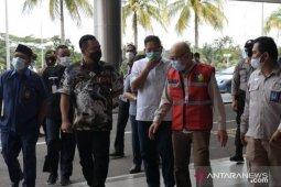 Komisi III DPRD Kepri tinjau kesiapan  GeNose Bandara Hang Nadim