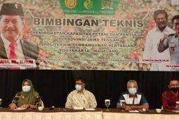 Kementan dan DPR RI gelar Bimtek Petani-Penyuluh Kabupaten Banyumas