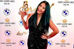 Anggun Cipta Sasmi terima penghargaan musik di Rusia