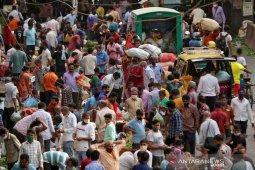 Di India, kasus COVID-19 tembus 200 ribu sehari