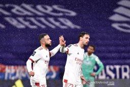 Lyon hajar Angers tiga gol tanpa balas