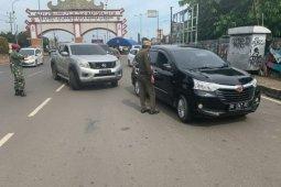 Hari ini digelar posko penyekatan di lima titik masuk kota Bandarlampung