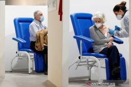 Italia hapuskan aturan wajib masker di luar ruangan mulai 28 Juni