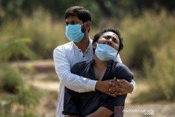 India mencatat rekor 314.835 kasus baru COVID dalam sehari