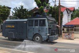 Polres Natuna kerahkan kendaraan taktis cegah COVID - 19