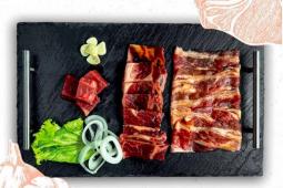 Drumstairs, restoran barbeque ala Korea yang semua menunya halal milik Rossa