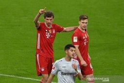 """Bayern """"kunci"""" gelar juara usai tundukkan Leverkusen 2-0"""