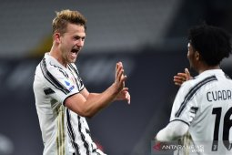 Juventus naik posisi ketiga, Sampdoria kirim Crotone ke ambang degradasi