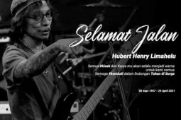 Musisi grup band Boomerang Hubert Henry meninggal dunia