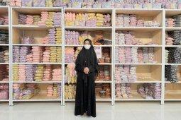 Akhirnya gamis dan hijab dari Ngawi pun merambah ke negara tetangga