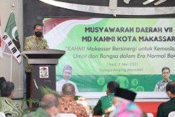 Wali kota minta dukungan KAHMI sukseskan program Makassar Recover